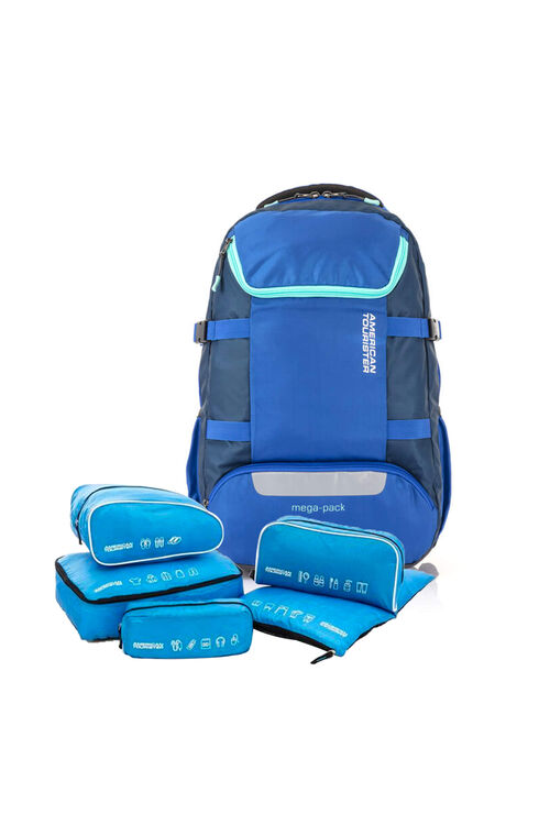 Magna Backpack 02 Blue + 5-in-1 Travel Pouch